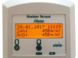 Radon Scout Home with excellent calibration result (2017-03-22)