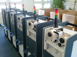 A production batch of Aer 5200 during SARAD's quality tests