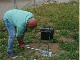 Soil gas measurement