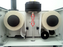 Active filter sealing meachanism