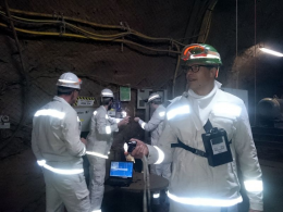 Personal dosimetry in mines
