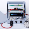 System for the stationary monitoring of Radon gas in the soil